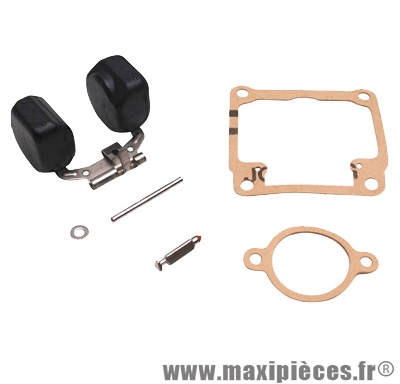 Kit réparation flotteur pour carbu dellorto et adaptable de type phbg (flotteur/pointeau/axe/joints)