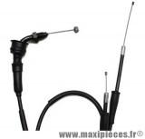Transmission de gaz / cable d'accelerateur de 50 a boite pour aprilia rs50