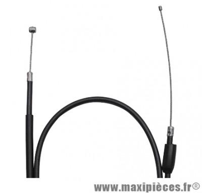 Transmission de gaz / cable d'accelerateur de 50 a boite pour peugeot xp6 (diametre 5)