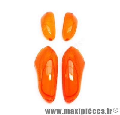 Cabochon de clignotant avant et arrière orange pour gilera stalker 50cc