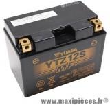 Batterie 12v /11ah yuasa (ytz12s) sans entretien pour yamaha 600 silver wing... (dimension: lg150xl87xh110)