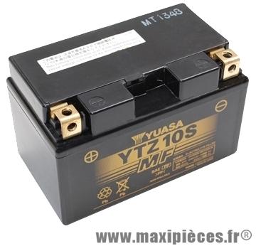 Batterie 12v / 8,6ah yuasa (ytz10s) gel sans entretien prêt a l'emploi