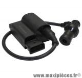 bobine d'allumage adaptable origine piaggio zip 4t/fly 4t/lx 4t (ducati)(sans fil/antiparasite)