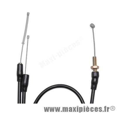 transmission de gaz / cable d'accelerateur de scooter pour piaggio / gilera runner dna