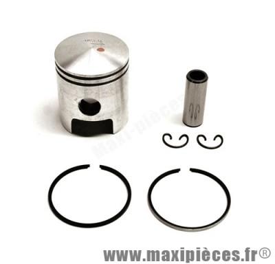 piston + segment + axe et clips pour cylindre airsal pour suzuki katana adress (50cc 2t air)