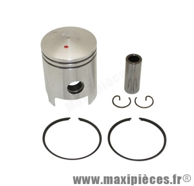 piston + segment + axe et clips pour cylindre airsal pour kymco bjw snipper calypso heroism (50cc 2t air)