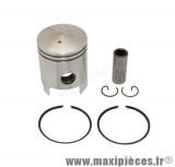 piston + segment + axe et clips pour cylindre airsal pour kymco bjw snipper calypso heroism (50cc 2t air)