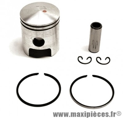 Piston + segment + axe et clips pour cylindre airsal pour peugeot jet force ludix blaster speedfight 3 (50cc 2t liquide)