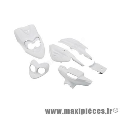 Kit carrosserie carénage blanc pour booster ng (6 pièces)