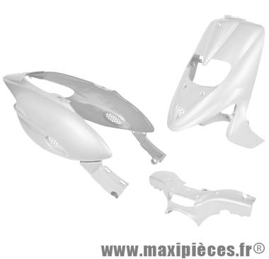 Kit carrosserie carénage blanc pour gilera stalker (5 pieces) (avec trappe)