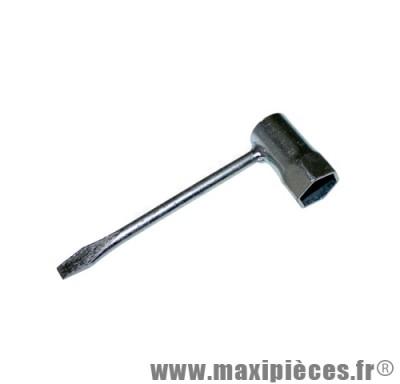 clé a bougie tournevis 21mm pour moto/50 à boite/scooter/maxi scooter/mobylette ...