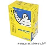 Chambre à air 18 pouces Michelin 3.25 à 4.60/18 (130/70x18, 110 à 130/80x18 et 100 à 120/90x18) - valve droite TR-4