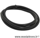 durite d'essence 4mm noir diamètre extensible (intérieur 4mm par 7mm extérieur/vendu par 1 mètre)