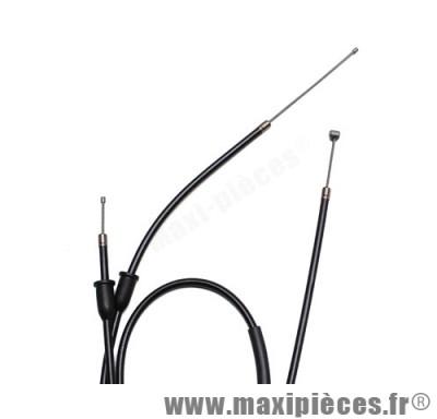 transmission de gaz / cable d'accelerateur de 50 a boite pour peugeot xp6 sm (diametre 6)