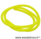 Durite d'essence jaune fluo diametre extensible (interieur 5mm par 8mm exterieur/vendu par 1 metres)