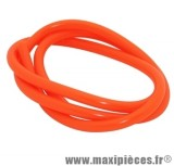 durite d'essence 5mm orange fluo diametre extensible (interieur 5mm par 8mm exterieur/vendu par 1 metres)