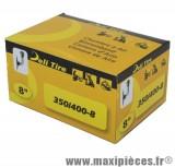 Chambre à air 8 pouces Deli Tire 3.50/4.00x8 - valve coudée JS-87C