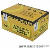 Chambre à air 10 pouces Deli Tire 3.00/3.25x10 - 100/80x10 - 90+100/90x10 - valve standard coudée JS-87C
