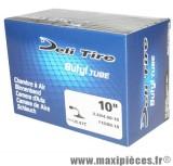 Chambre à air 10 pouces Deli Tire 3.50/4.00x10 - 110/80x10 - valve standard coudée JS-87C