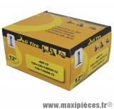 Prix spécial ! Chambre a air 12 pouces Deli Tire 4.00x12 - 120+130+140/70x12 - 120+130/80x12 - valve droite TR-4