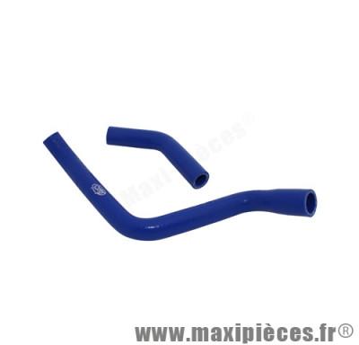 durite d'eau silicone mtkt bleu pour derbi senda euro3 (livre par 2)