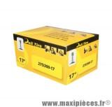 Chambre à air Deli tire 17 pouces 2.75 à 3.00x17  valve TR4