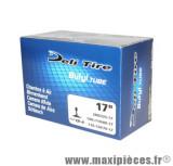 Chambre à air 17 pouces Deli Tire 300/325x17 - 100+110/80x17 - 110+130/80x17  valve TR-4