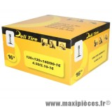 Chambre à air 16 pouces Deli Tire 4.50/5.10x16 - 120+130+140/90x16 - valve standard droite TR4