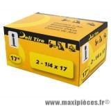 Chambre à air 17 pouces Deli Tire 2 - 1/4 x 17 - valve droite schrader