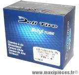 Chambre à air Deli tire 18 pouces 3.25 + 3.50 + 4.10 x18 - 100/80x18 et 110/90x18 valve standard droite TR-4