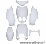 Kit carrosserie carénage blanc pour ovetto jusqu'à 2007/neos jusqu'à 2007 (7 pièces)