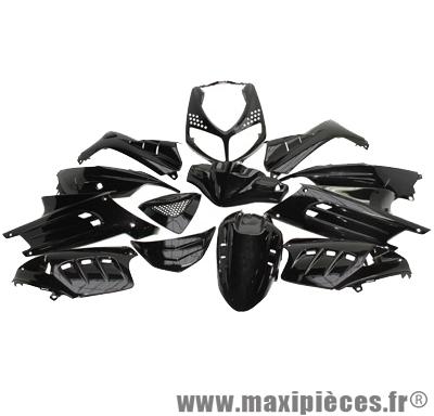 Kit carrosserie carénage noir pour speedfight 2 (13 pièces)