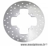 Disque de frein arrière de 50 à boîte adaptable : mbk x-power/tzr50 (ext 203mm, 4 trous)