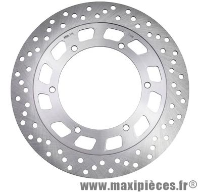 Disque de frein avant de 50 à boîte adaptable : pour mbk x-power/tzr50 (ext 282mm, 6 trous)