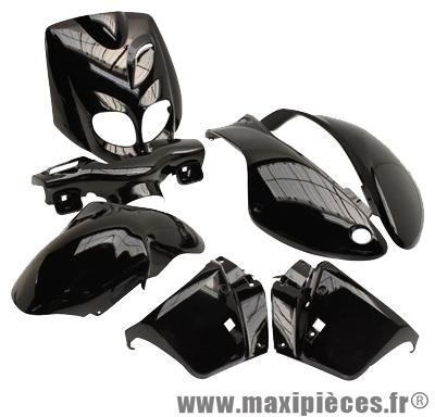 Kit carrosserie carénage noir pour peugeot trekker apres 2006 tkr (7 pièces)