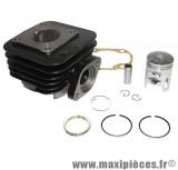 Kit cylindre piston type origine fonte pour sym 50 jet sr sport euro x