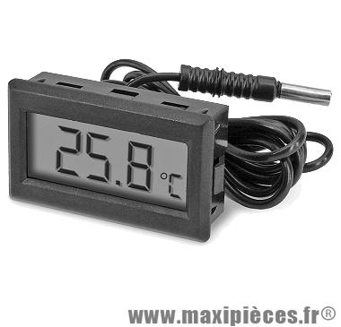 Thermomètre sonde de température ambiante digital universel