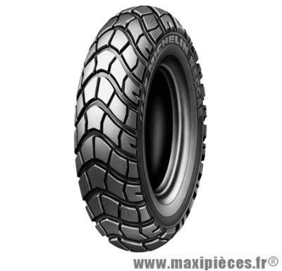 Prix Spécial ! Pneu de scooter 130/90 x10 61J marque Michelin modèle Reggae tubeless (pneus pavé)