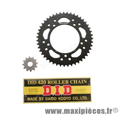 Prix discount ! Kit chaine D.I.D pour derbi gpr nude 2004/2005 420x132 14x53