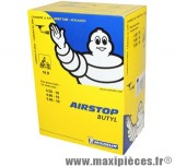 Chambre à air 10 pouces Michelin 10D 4.50/4.80/5.00x10 (130/70x10 et 120+130/90x10) - valve coudée 90°