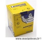 Chambre à air 15 pouces Michelin (130/90x15) - valve coudée a 90 degré