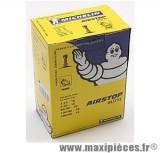 Chambre à air 16 pouces Michelin 3.25/3.50x16 (90+100/90x16 et 100/80x16) - valve standard droite