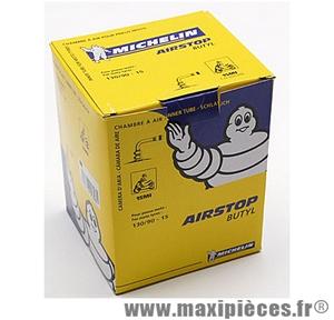 Prix spécial ! Chambre à air 15 pouces Michelin (130/90x15) - valve coudée