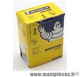 Déstockage ! Chambre à air 17 pouces Michelin 17mg 120/70x17 standard droite