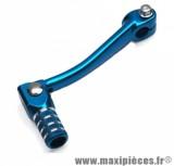 Selecteur de vitesse alu bleu pliable pour moteur am6 yamaha dt mbk x-limite peugeot xps xp6