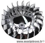 Turbine chromée pour yamaha bws bump spy slider mbk booster rocket ng stunt