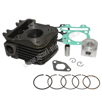kit cylindre piston type origine 4temps : aprilia sporcity on piaggio liberty zip vespa lx et4