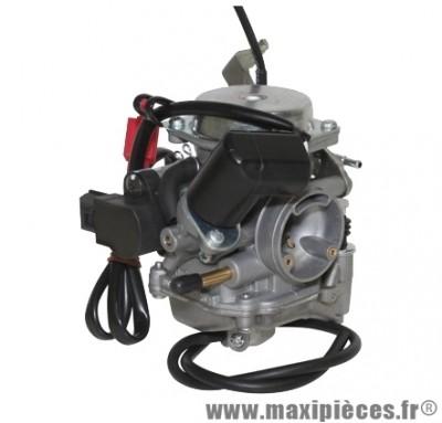 Carburateur complet pour maxi scooter 125cc type dellorto (origine tk) Ø24mm