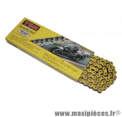 Chaine (420) renforcé de couleur jaune 134 maillons pour 50 à boite