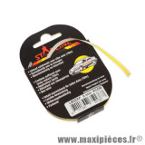 Prix spécial ! Autocollant/sticker/liseret jaune pour jante et carrosserie rouleau de 10m largeur 3mm
